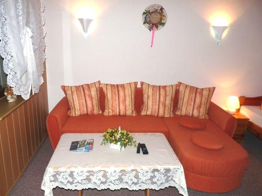 Sofa im Wohn-Schlafzimmer