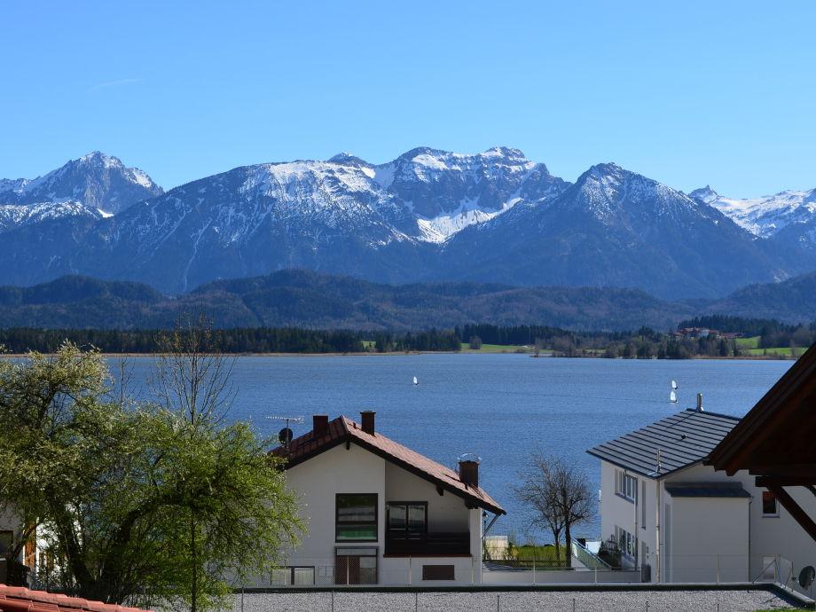 Balkonblick im Frühjahr