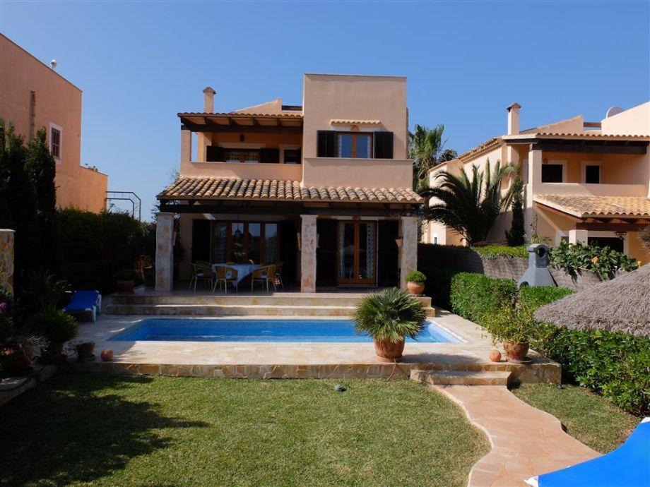 Ferienhaus Mondrago mit Pool