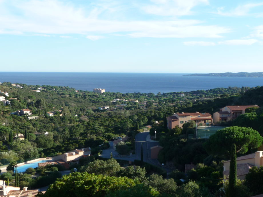 """Domaine View taken at  terrace from our """"Tamaris17"""""""