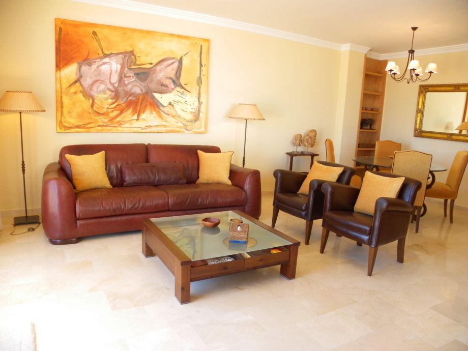 Designer-Möbel im Wohnzimmer