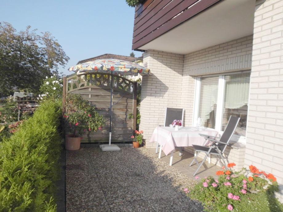 Terrasse mit Loggia