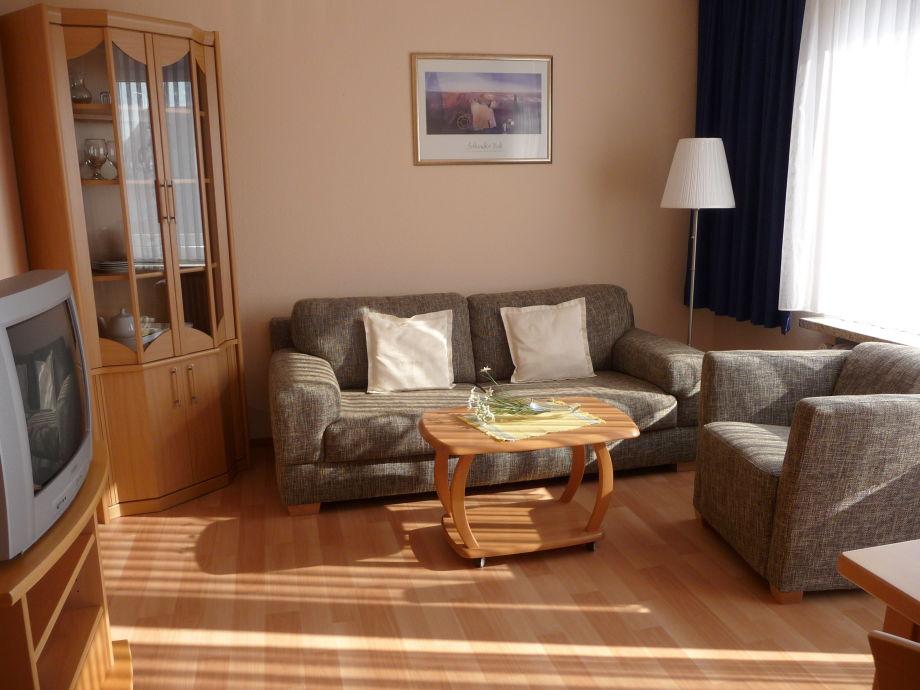 Das Störtebecker-Wohnzimmer mit Morgensonne