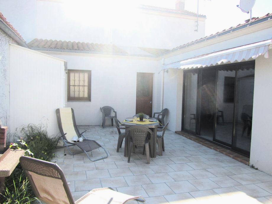 Haus 63 Terrasse mit Eingang