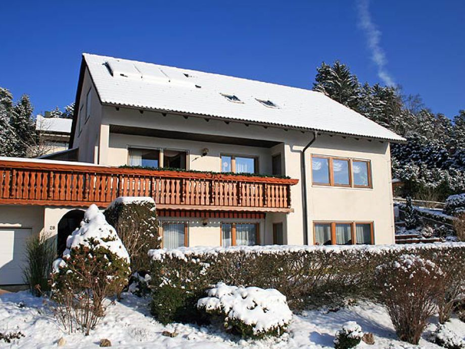 Haus Hanl im Winter