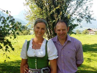 Ihr Gastgeber Josef und Martina Ausweger