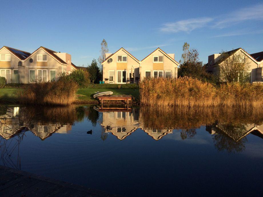 Haus mit eigenem Bootssteg