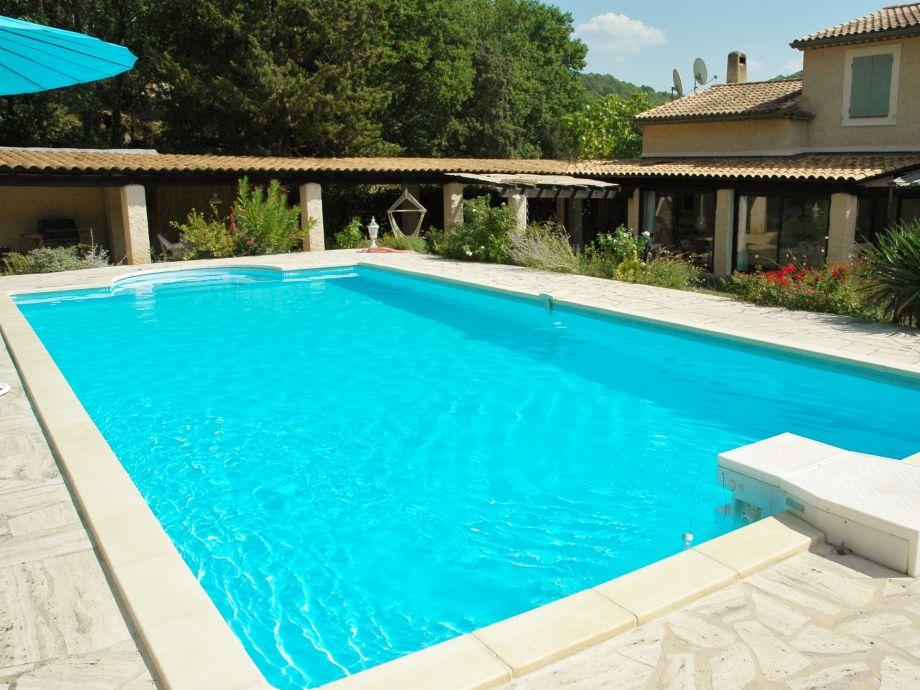 uneinsehbare Privatsphäre am großen Pool (10x5 m)