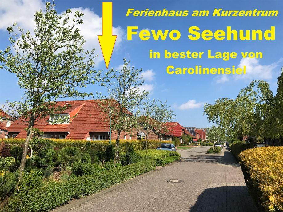 Ferienhaus in bester Lage von Carolinensiel