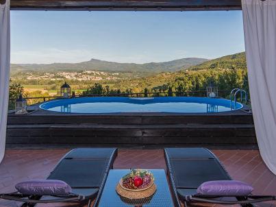 mit Pool in der Toskana