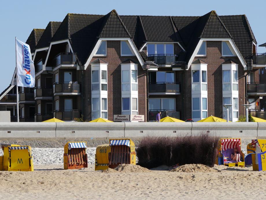 Die Residenz Meeresbrandung direkt am Strand