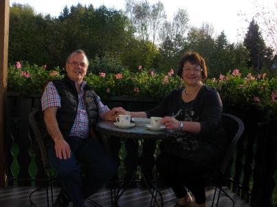 Ihr Gastgeber Walter und Rita Slupek
