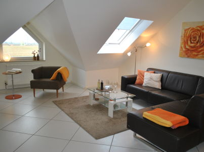 Dachgeschoss-Ferienwohnung