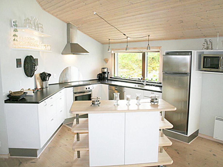 offene Küche Sondervig Haus