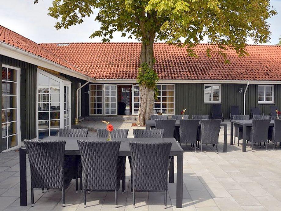 Terrasse Poolhus Südsee