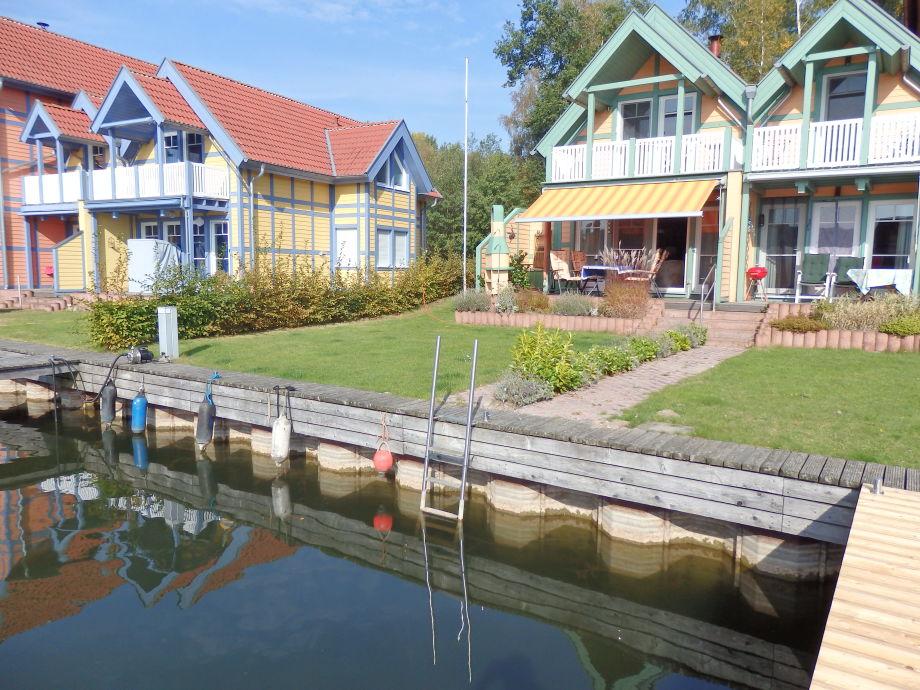 Uferhaus Südlage mit Bootssteg