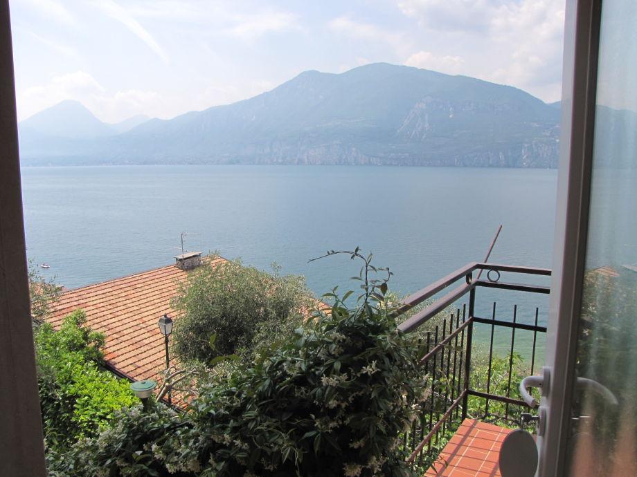 Der schöne Ausblick auf den Gardasee