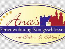 Ferienwohnung Ana's Ferienwohnung - Königsschlösser
