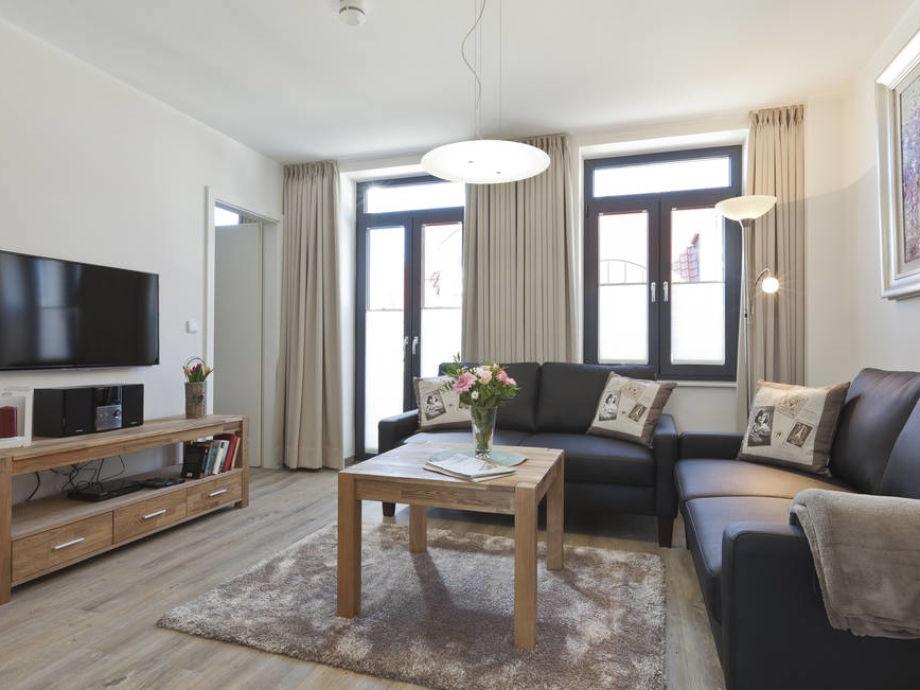 Ferienwohnung lara 2 ostfriesische inseln norderney for Eingerichtete wohnzimmer modern