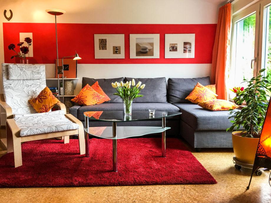 Casa Alma, Wohnung B, Wohnzimmer