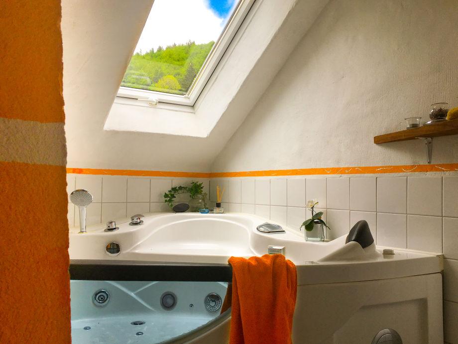 Casa Alma, Wohnung B, Badezimmer, Whirlpool