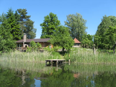 Seeidyll Comthurey - Schilfhaus