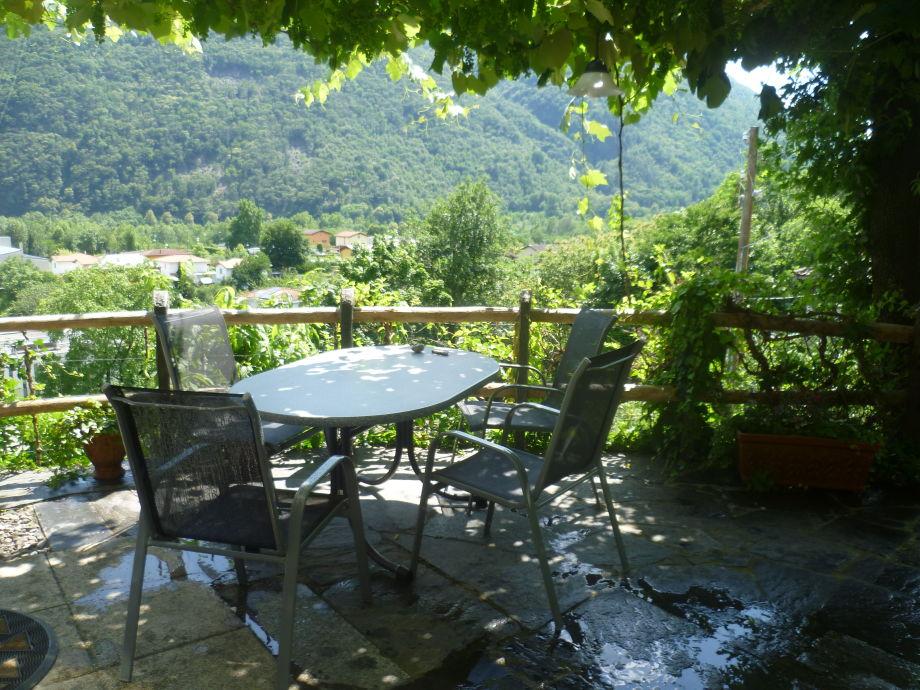 Terrasse mit schönem Ausblick