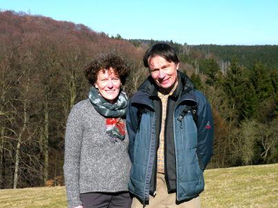 Ihr Gastgeber Vally Finke und Hermann Henning