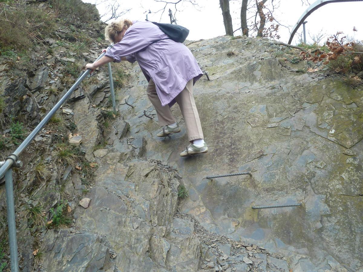 Klettersteig Cochem : Calmont klettersteig u winni´s