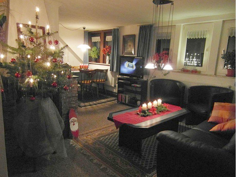 Ferienwohnung utkiek wangerland herr bernhard kaps for Weihnachten wohnzimmer