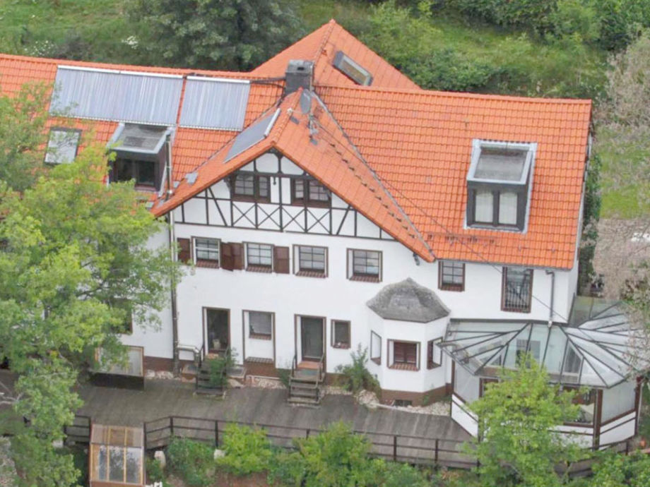 House Wackerberg Aerial View