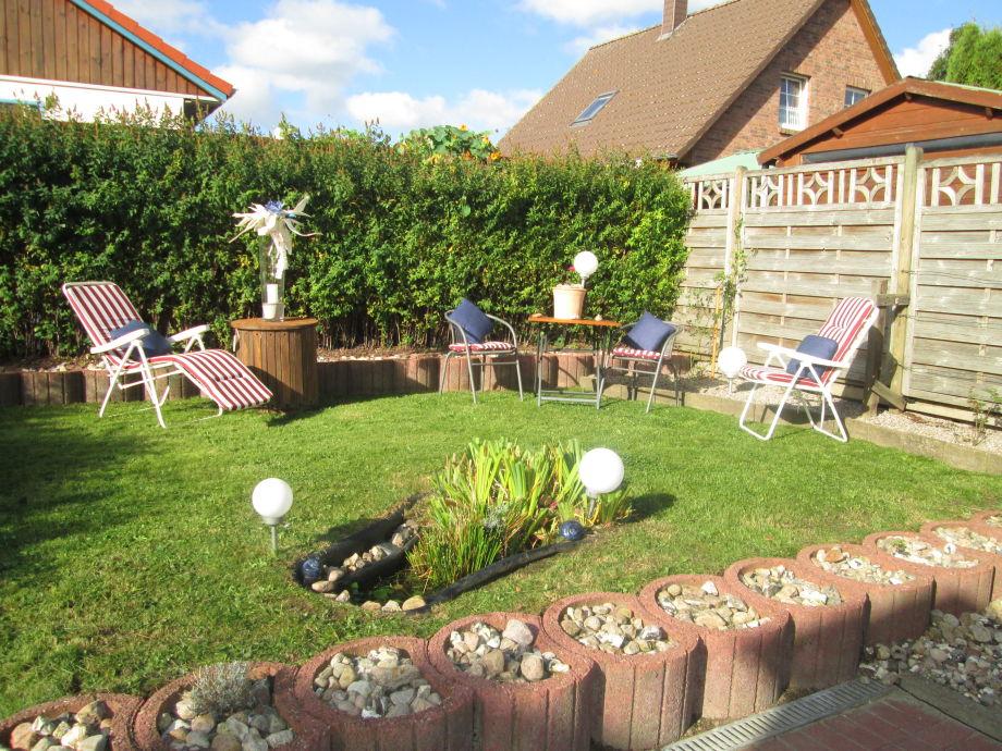 Ferienhaus liane s hus garding firma urlaubsservice - Garten mit teich ...