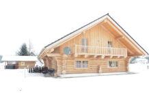 Chalet Drei-Flüsse-Blockhaus
