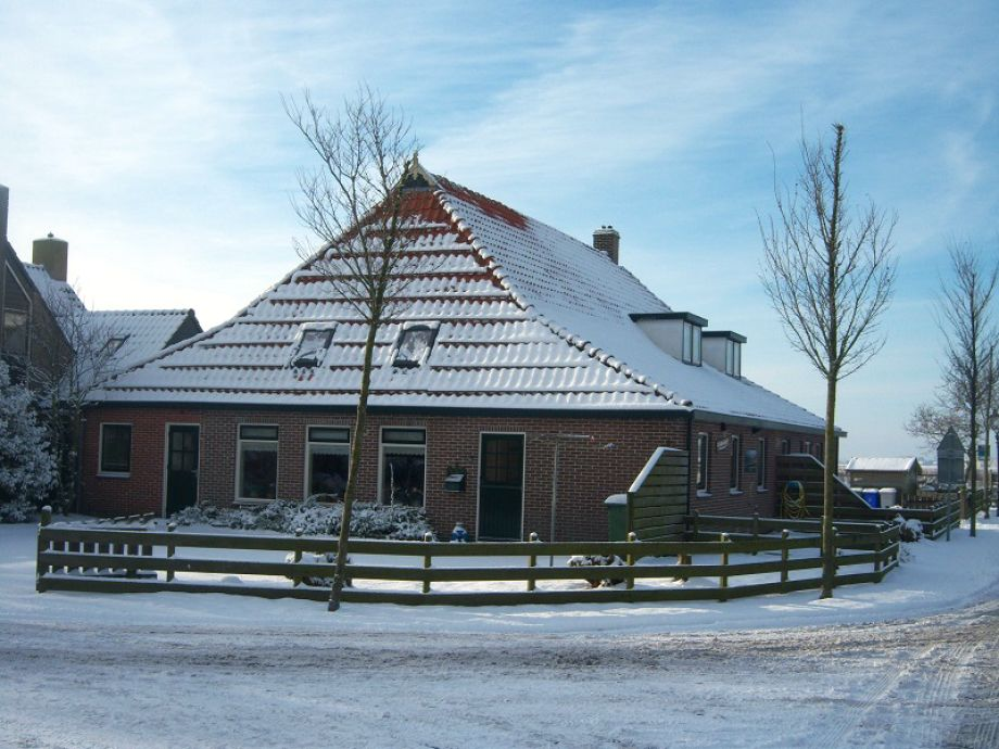 Ferienhaus De buurderij im Winter