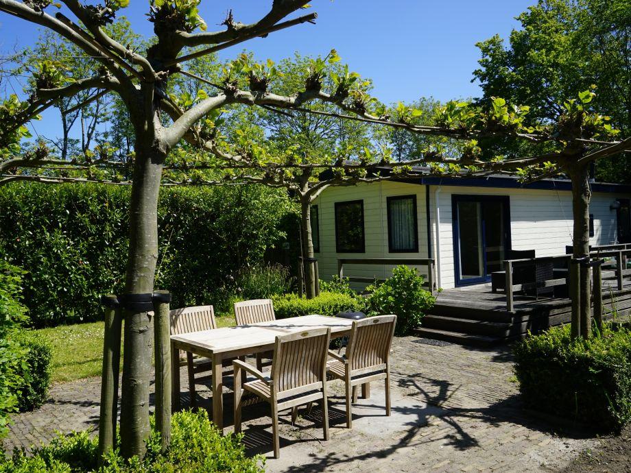 Gartern und Terrasse im Garten