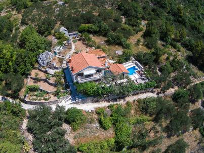 Makarska mit Pool und Meerblick