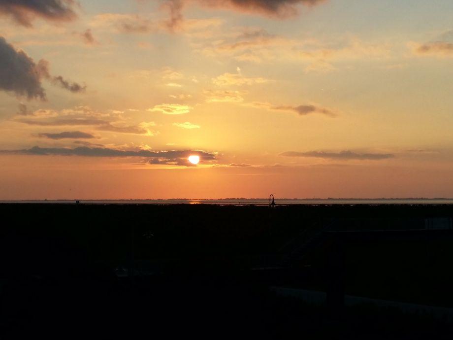 Genießen Sie den Sonnenuntergang direkt aus der Wohnung