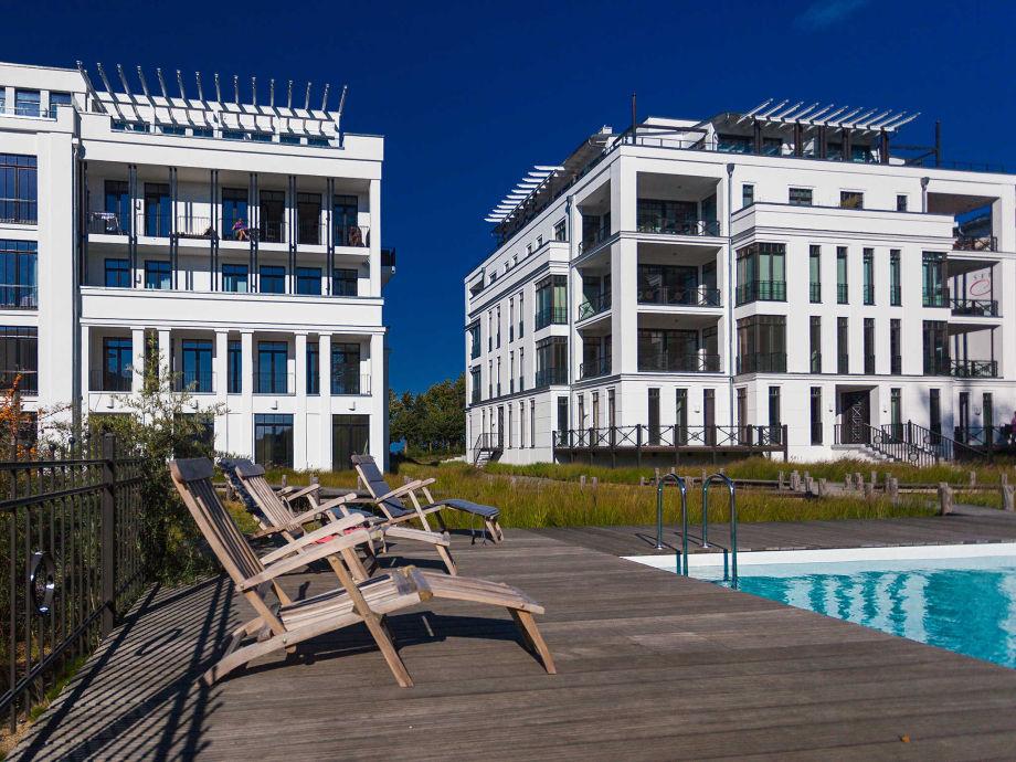 Außenaufnahme Villa Philine | Meerblick-Appt. 116