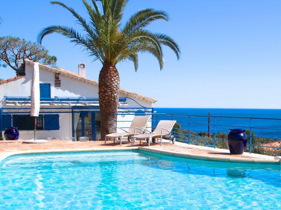 Villa Blanc Bleu Sainte Maxime