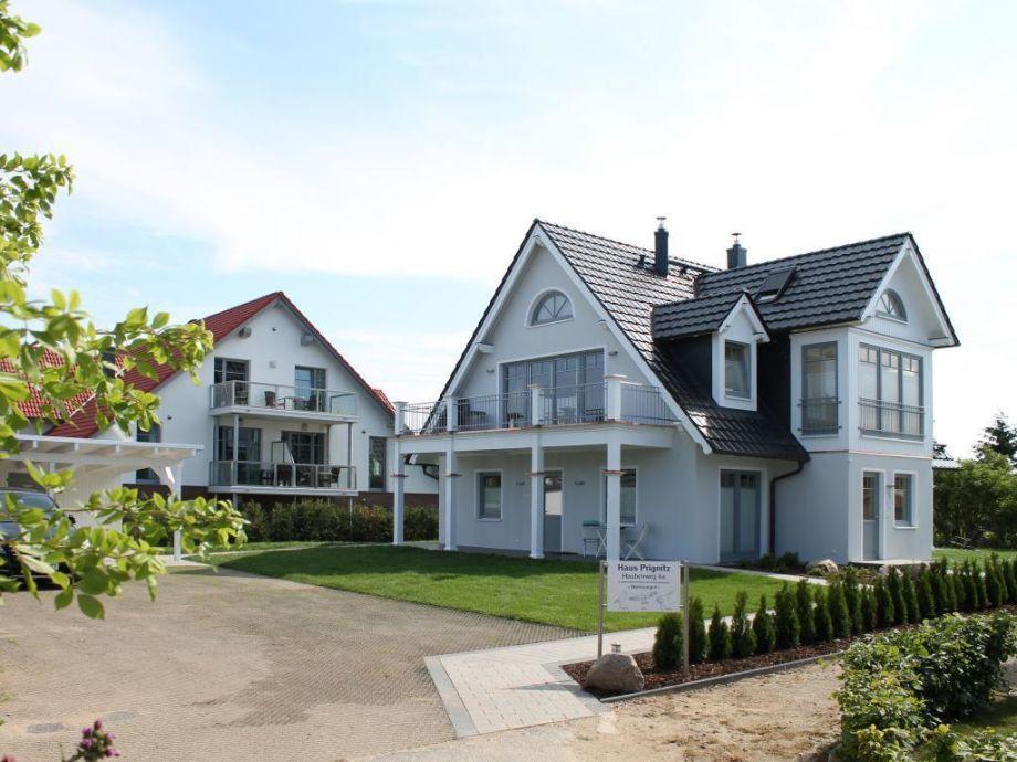 Haus Prignitz - Blick auf das Haus von der Seeseite