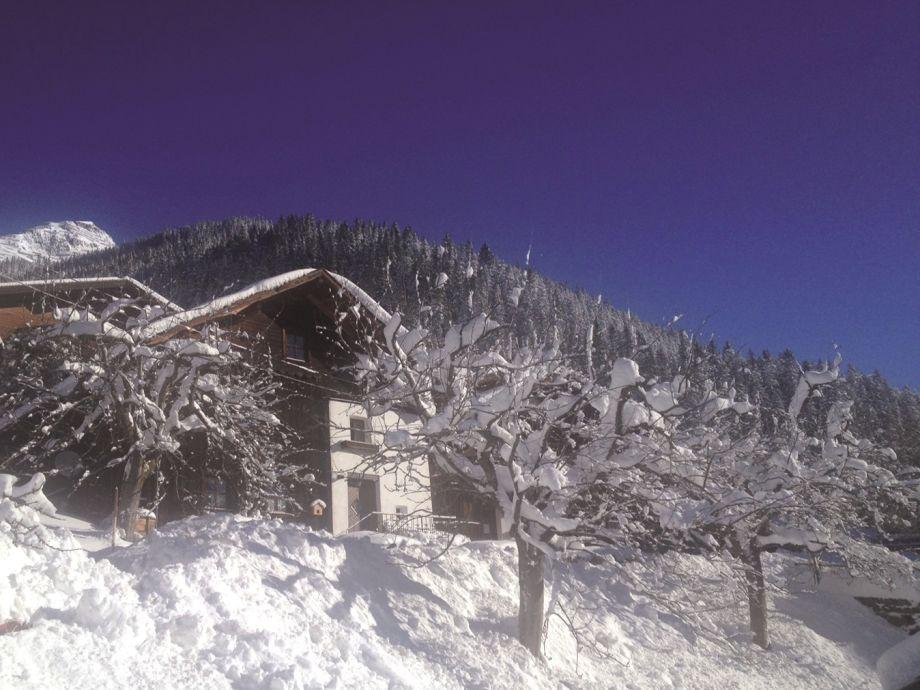 Winteridylle an der Skihütte Kappl