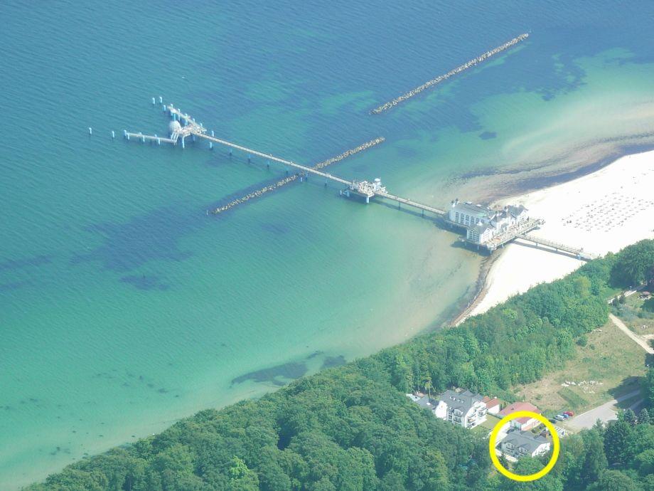 Bernsteinperle mit Seebrücke