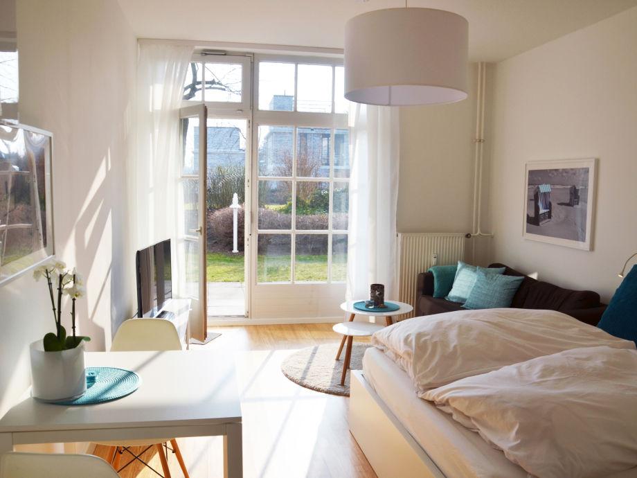 Wohn- und Schlafbereich wunderschön hell