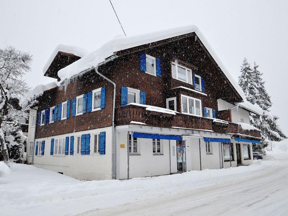 Außenaufnahme Gästehaus Ostrachtal