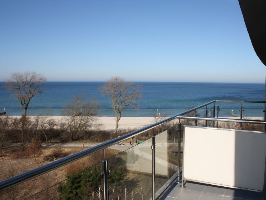Meerblick vom Balkon