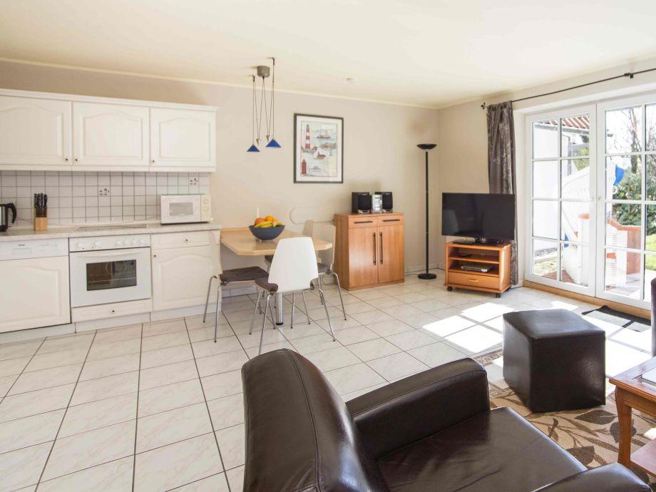 Kombinierter Wohn-Küchenbereich