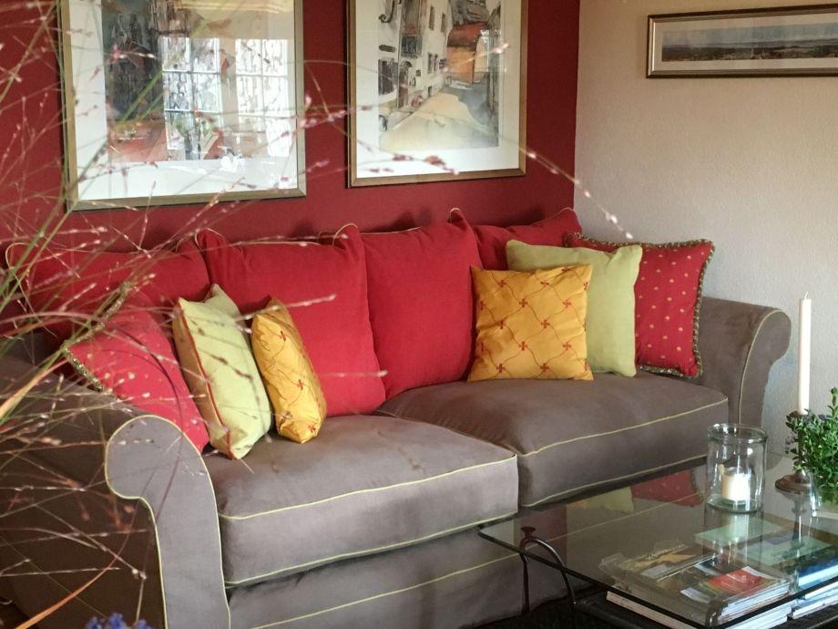 Wohnzimmer Garden Suite - Sofa mit Couchtisch