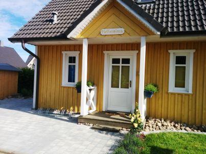 Schwedenhaus mit Sauna und Kamin
