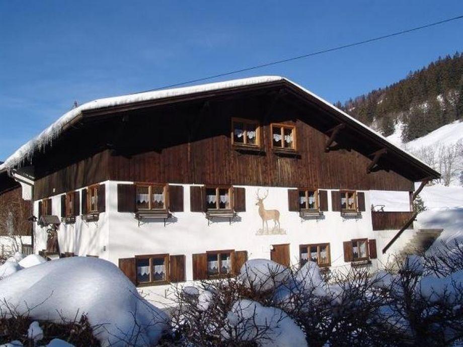 Jägerhaus aus dem 18. Jahr.