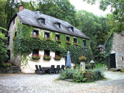 Kolliger Mühle, old watermill in the Eifel